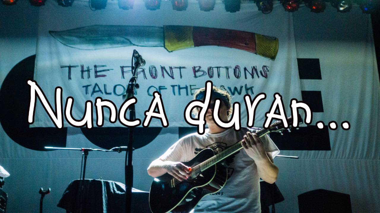 The Front Bottoms Swimming Pool Sub Espa Ol Youtube