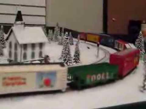 Christmas Train (N Scale) - YouTube