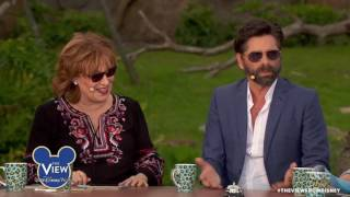 John Stamos Talks Pranking Kids In Disney World, Dressing As Prince Eric & More | The View