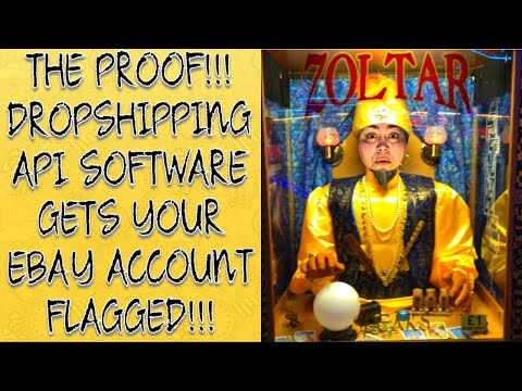 PROOF that API RA Dropshipping Software gets your eBay Account Flagged! thumbnail