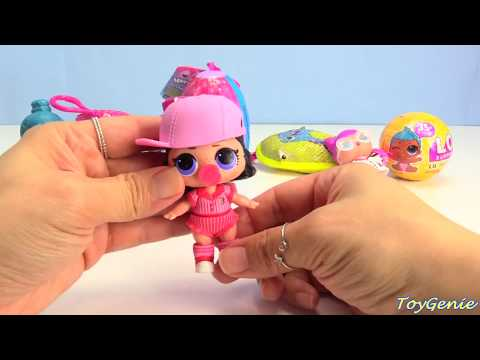 Opening LOL Surprise Confetti Pop Series 3 Wave 2 Lil Sisters and Hatchimals |
