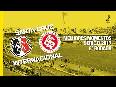 Melhores Momentos - Santa Cruz 0 x 0 Internacional - Série B - 17/06/2017
