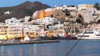 прибытие на остров Наксос: открытие парома, июнь 2014(Остров Наксос - самый большой Кикладской группы островов. Я прибыла сюда на пароме Aegean Speed Line из Афин. Ехала..., 2014-06-25T06:22:45.000Z)