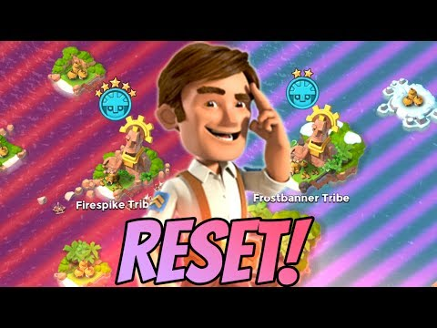 Boom Beach NEW Tribe Reset! Best Tribe to Upgrade Strategy! (New Cycle Update!)