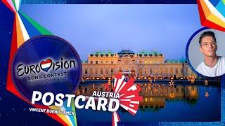 Eurovision 2021: Austria's Postcard • Vincent Bueno - Amen 🇦🇹