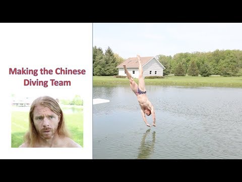 Making the Chinese Diving Team - Ultra Spiritual Life episode 111
