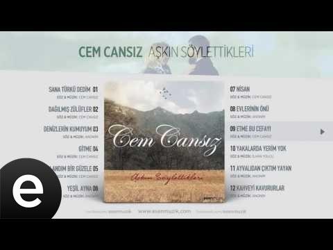 Etme Bu Cefayı (Cem Cansız) Official Audio #etmebucefayı #cemcansız