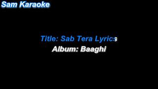 Sab Tera _ Karaoke sam Karaoke