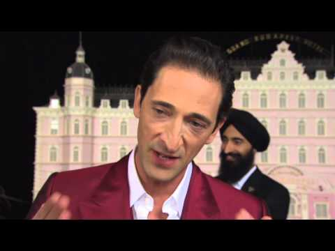 The Grand Budapest Hotel: Adrien Brody Movie Premiere Interview