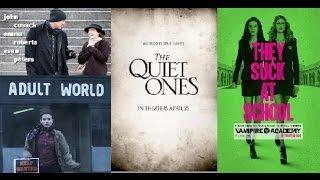 Trailer Thursdays: Adult World, The Quiet Ones, Vampire Academy