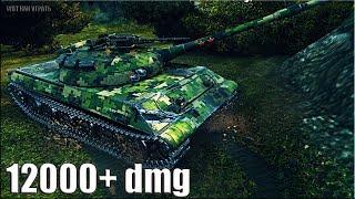 Лучшая ПОЗИЦИЯ для ДАМАГА Объект 430У 🌟 12000+ dmg 🌟 World of Tanks максимальный урон