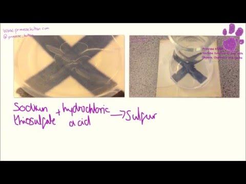Popular Videos - Sodium thiosulfate & Hydrochloric acid