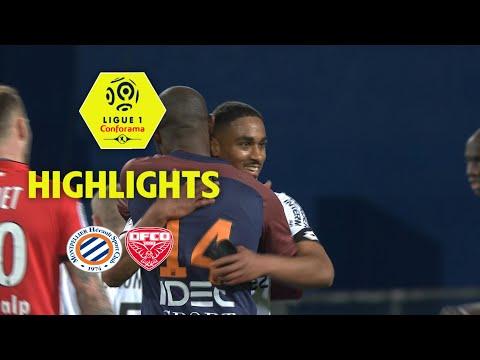 Montpellier Hérault SC - Dijon FCO ( 2-2 ) - Highlights - (MHSC - DFCO) / 2017-18
