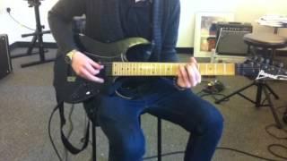 Knocking on your Backdoor || Deep Purple || Alex Cook guita