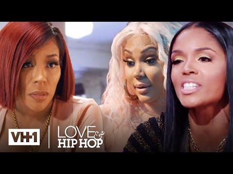 K. Michelle Vs. Rasheeda, Lyrica & More | Love & Hip Hop | #AloneTogether