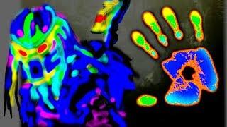 🌑 ТЕПЛОВИЗОР ИЗ КУСКА ПЛЕНКИ НЕРЕАЛЬНО КРУТЫЕ ЭФФЕКТЫ Liquid Crystal Sheet Игорь Белецкий