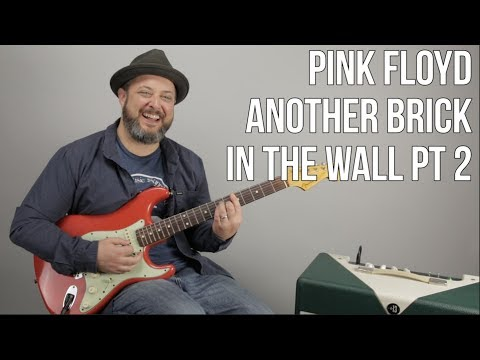 "How to Play Pink Floyd ""Another Brick In The Wall pt. 2"""
