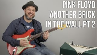 "Video How to Play Pink Floyd ""Another Brick In The Wall pt. 2"" download MP3, 3GP, MP4, WEBM, AVI, FLV November 2018"