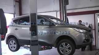 Удаление сажевого фильтра  Hyundai ix 35  .Удаление сажевого фильтра в СПБ.