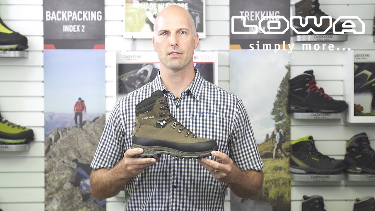 7beb4aaea5495e Introducing the LOWA Tibet GTX MID boot - YouTube