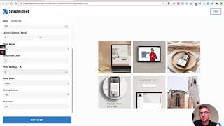 How to add your Instagram feed to your Showit website with SnapWidget