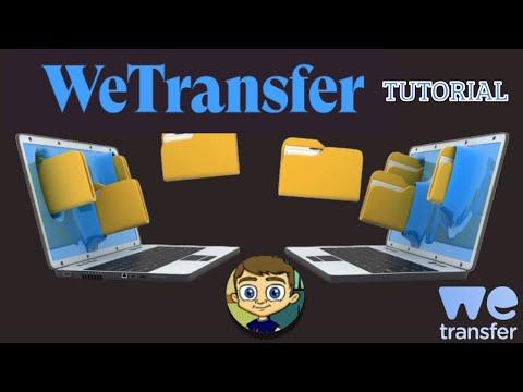 WeTransfer 2017 Tutorial -Transfer Large Files Online