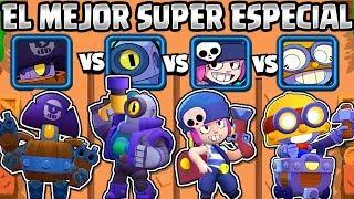 CUAL ES EL MEJOR BRAWLER SUPER ESPECIAL? OLIMPIADAS de SUPER ESPECIALES   Darryl VS Rico VS Carl Video