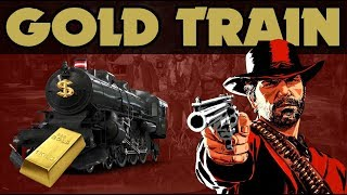 Red Dead Redemption 2 : Derailed Gold Train Easy Gold bars & Jewellery Bags