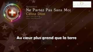"""[1988] Céline Dion - """"Ne Partez Pas Sand Moi"""" (Switzerland)"""