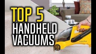 Best Handheld Vacuum Cleaners in 2018 - Which Is The Best Handheld Vacuum?
