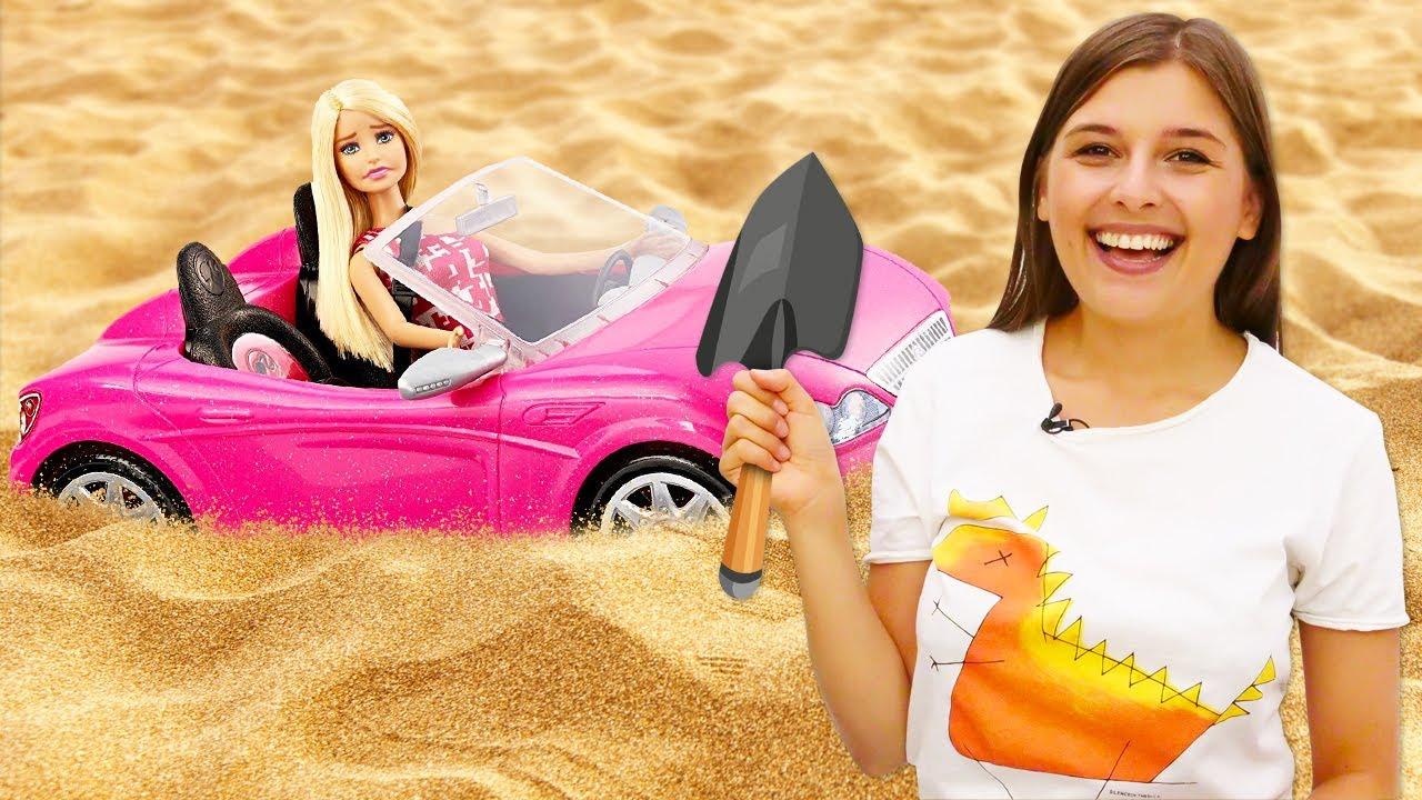 Барби - Королева пустыни?! Смешные видео для девочек про куклы Barbie