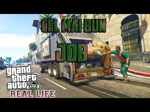 GTA 5 Real Life - Luam cel mai bun JOB posibil