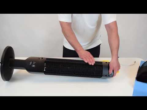 "How to Install a Lasko 2511 Tower Fan 36"" Fan Filter"