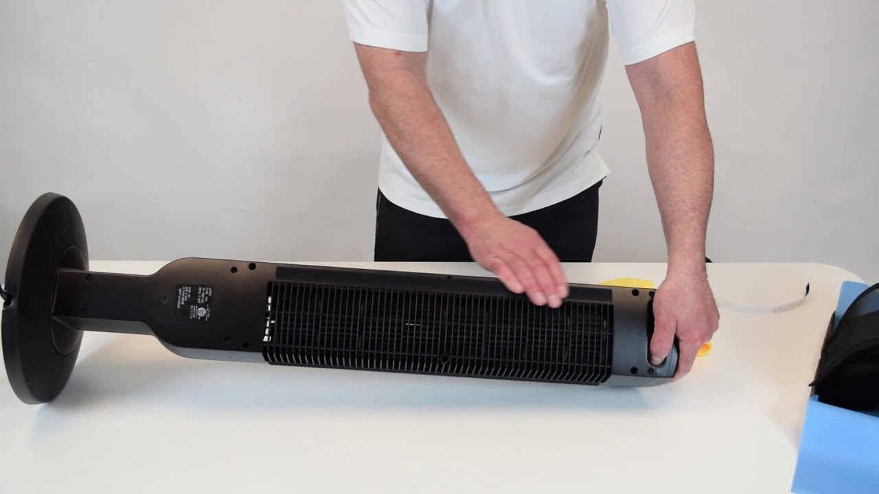 How to Install Your Tower Fan Filter - Breathe Easy Pollen Tec