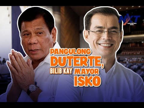 Pangulong Duterte, bilib kay Mayor Isko | NXT