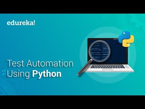Test Automation Using Python | Selenium Webdriver Tutorial With Python | Selenium Training | Edureka thumbnail