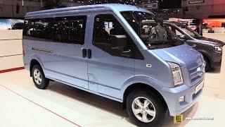 2015 DFSK C37 MPV EPS - Exterior and Interior Walkaround - 2015 Geneva Motor Show