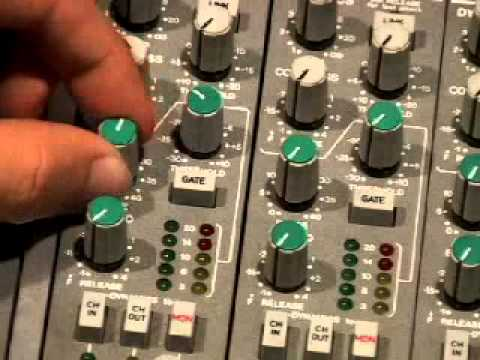 Ssl 4000g Channel Strip Part 1 Of 2 Youtube