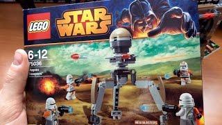 75036 LEGO Utapau Troopers - обзор