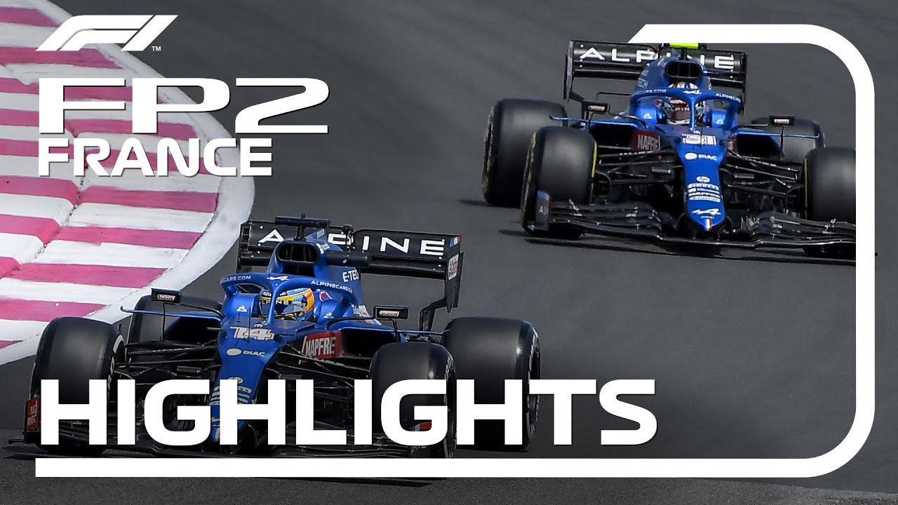 FP2 Highlights | 2021 French Grand Prix