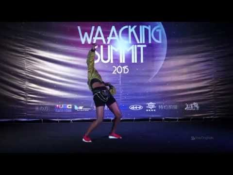 PRINCESS MADOKI Judge Performance|Waacking Summit 2015 Xuzhou China