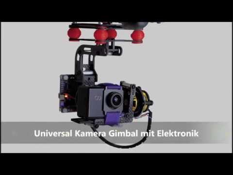 Universal Kamera Gimbal Mit Elektronik Von Modellbau Lindinger: 9708720
