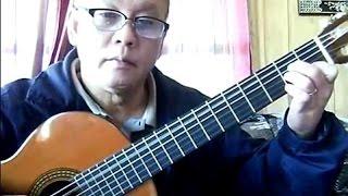 Mùa Xuân Trong Đôi Mắt Em (Đức Huy) - Guitar Cover by Bao Hoang