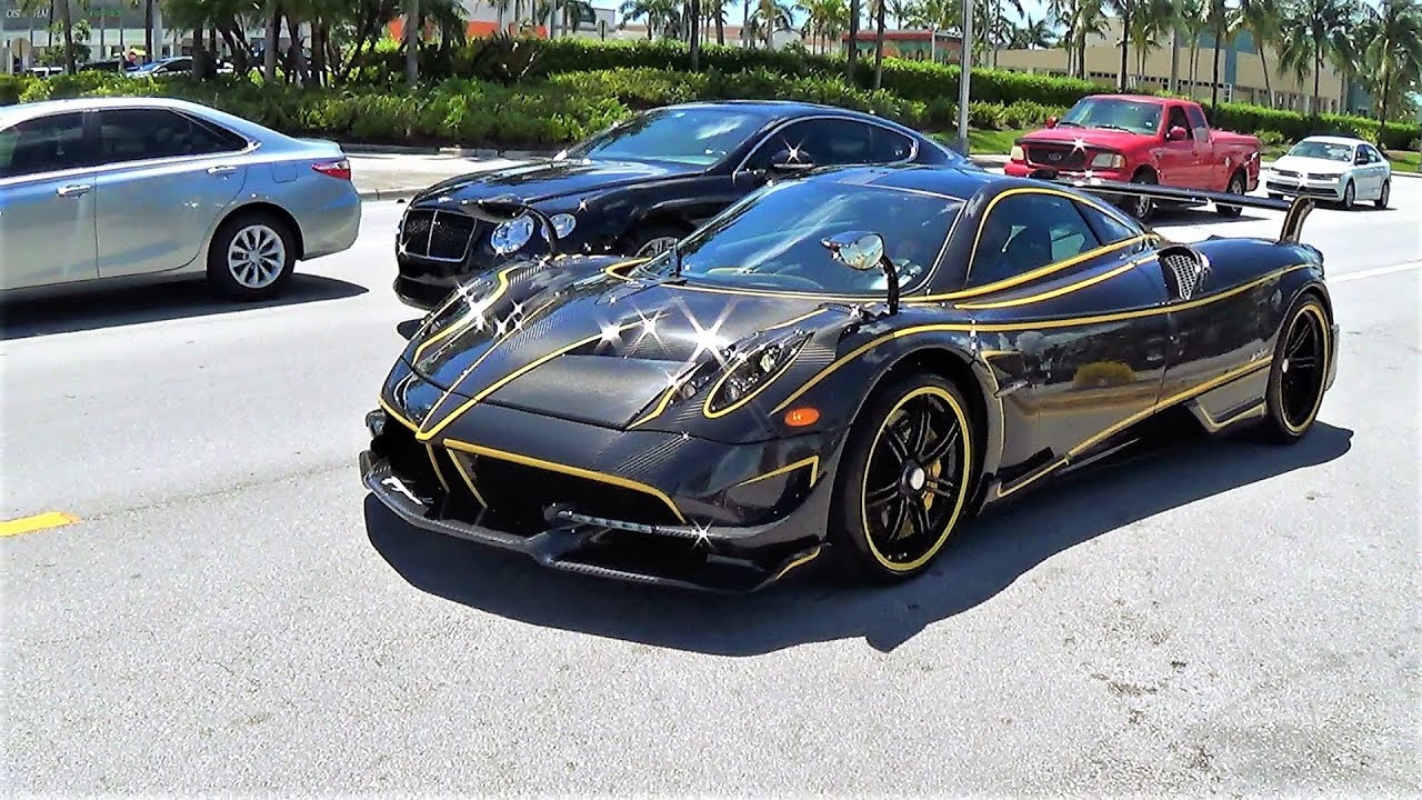 Pagani Huayra Bc Insane Beast Interior Exterior Drive Going To New