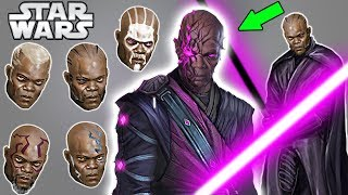 DARK SIDE Mace Windu and New Dark Saber - Star Wars Explained