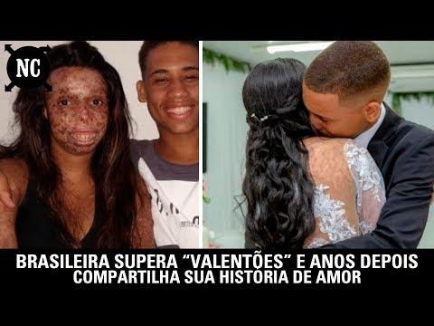 """brasileira-supera-""""valentões""""-e-anos-depois-compartilha-sua-história-de-amor"""