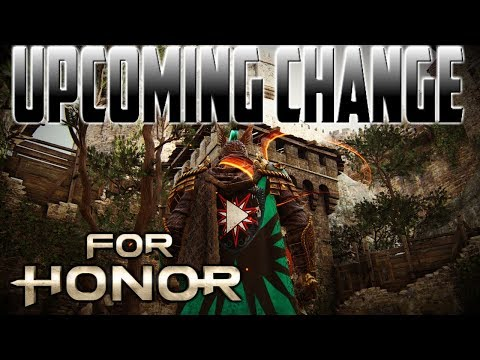 [For Honor] Upcoming Centurion Change