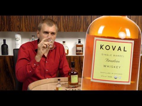 Whiskey Verkostung: Koval Bourbon