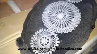 Scalica Epoksi Şeffaf Reçine Sıvı Cam Kaplama