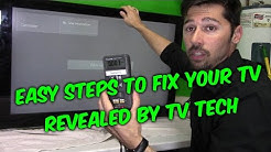 LED LCD TV REPAIR GUIDE: How to troubleshoot without meters or testers